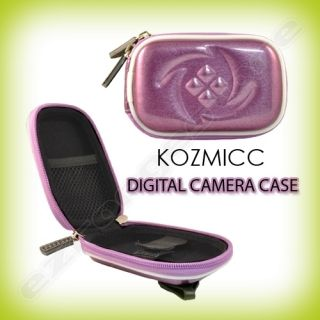 Purple Digital Camera Case Cover for Nikon Coolpix AW100 L22 S70 S230