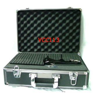 pro hard sided aluminum digital camera case bag