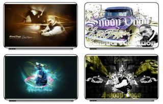 Snoop Dog Rap Laptop Netbook Skin Cover Sticker Decals