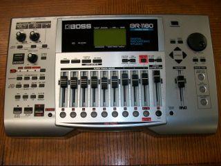Boss BR 1180 Digital Recording Studio w/CD 10 Track NICE