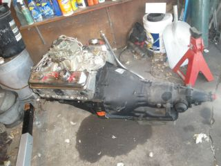 350 Chevy Motor 350 HP 350 Turbo Race Transmission