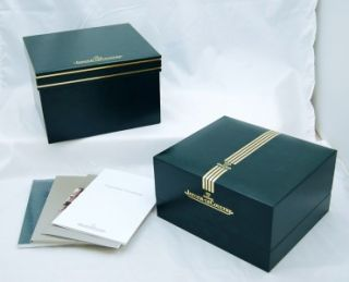 LeCoultre Deep Sea Alarm Watch COLLECTOR NEW Box & Books