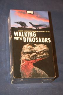 BBC Walking With Dinosaurs VHS (2 Tape Set) BRAND NEW SEALED
