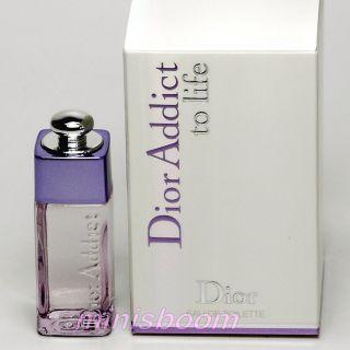 Dior Addict to Life Eau de Toilette 0 16 oz 5 ml Mini New
