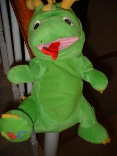 Dinosaur Green Baby Einstein Glove Hand Puppet