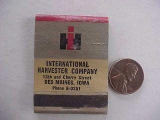 1950s Era Des Moines,Iowa International Harvester Trucks & Tractors