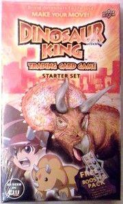 Dinosaur King Starter Deck Upper Deck Trading Card Game