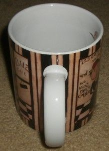 Collector Mugs Buzz Cafe Dan DiPaolo Ceramic Coffee Mug Cup New in