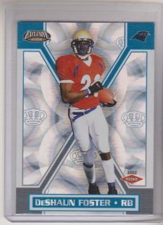 2002 Pacific Exclusive DeShaun Foster RC UCLA Bruins