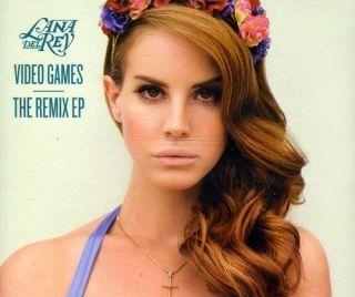 DEL REY LANA VIDEO GAMES REMIXES NEW CD