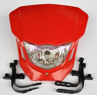 Street Fighter Bike Motorcycle Universal Dirt Bike LED Vision