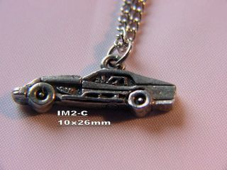 dirt track racing charm necklace auto race car racing jewelry