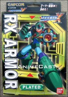 RX Armor Plated MEGA MAN Toy FIGURE MEGAMAN BanDai DISCONTINUED ITEM