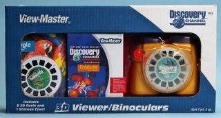 Discovery Channel View Master 3D Viewer Binoculars