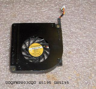 Dell OEM Latitude D610 CPU Fan H5195 0H5195 Tested Warranty Free