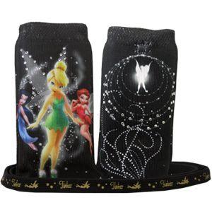 Disney Tinkerbell , Silvermist , Rosetta Cell Phone & Ipod Sock & Bag