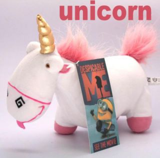 Despicable Me Plush Toys Fluffy Unicorn 10 with Tag