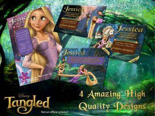 Disney Tangled Princess Rapunzel Party Invitations Envelopes Favour