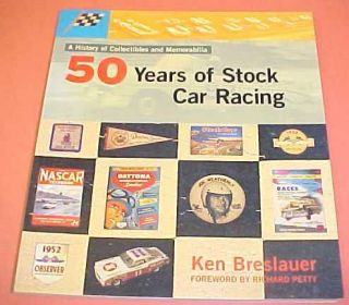 50 YEARS NASCAR STOCK CAR RACING DAYTONA 500 DIXIE 400 BOOK