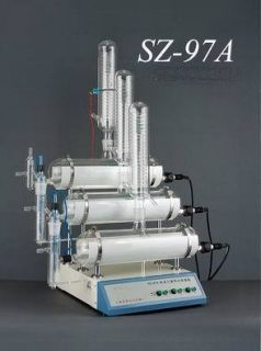Automatic Pure Water Distiller Triple Distillation Lab Use UK