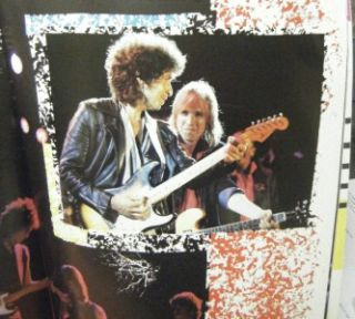 VINTAGE BOB DYLAN TOM PETTY & THE HEARTBREAKERS 1986 TRUE CONFESSIONS