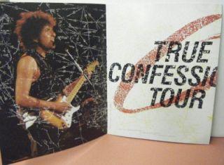 Vintage Bob Dylan Tom Petty 1986 True Confessions Tour Program 11 x