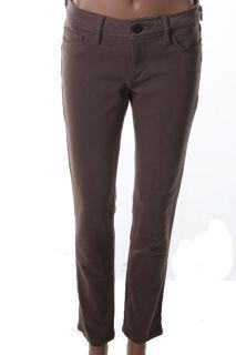 DL1961 Premium Denim New Angel Brown Mid Rise Stretch Ankle Skinny