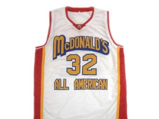 Lebron James 32 McDonalds All American Jersey White Any Size