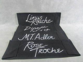 Law Order M T Adler Rose Troche Dianne Wiest Linus Roache Used Chair
