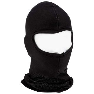 Weather Warm Black Fleece Motorcycle Ski Mobile Ski Full Face Mask