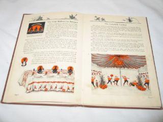 1923 Halloween Dennisons Hardcover Bogie Book RARE Dennison