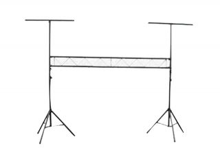 Pyle Pro PPLS209 New DJ Lighting Truss System W Integrated Crossbar