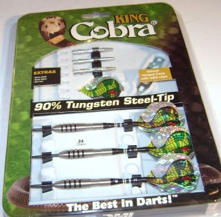 DMI Sports King Cobra 90 Tungsten Steel Tip Dart 24 GR