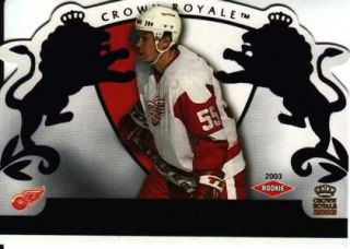 Dmitri Bykov 2002 03 Crown Royale 112 Purple 701 799