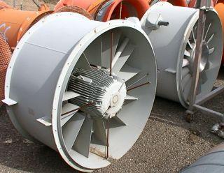 90HP 85 000CFM Wind Tunnel Exhaust Fan Blower 66 Diame