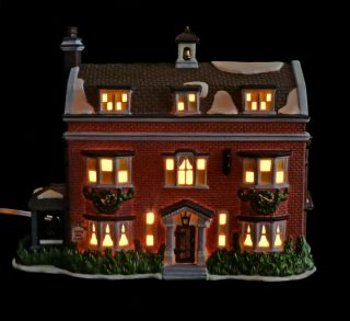 Department 56 Dickens Village Gads Hill Place 57535 Lighted NEW in Box