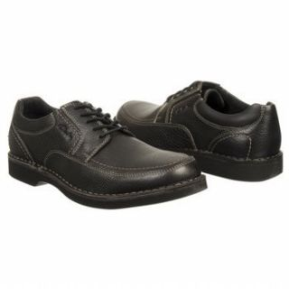 Clarks Doby 4 Eye Men 62177 Black Leather Lace Up Oxford Shoes