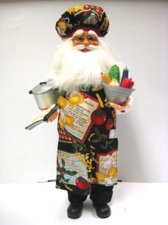 Cook Santa Karen Didion Christmas 1652