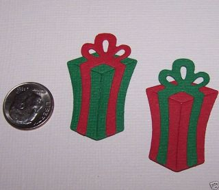 Christmas Gift 2 Die Cuts Quickutz Sizzix