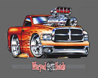 dodge ram pickup truck t shirt