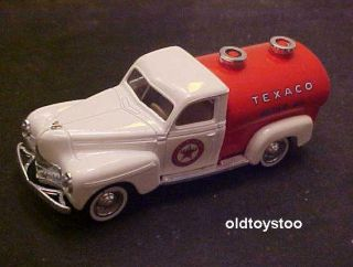 1950 Dodge Texaco Motor Oil Delivery Tanker Truck Solido Diecast 1 43