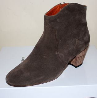 NEW SS 2012 ISABEL MARANT FAMOUS DICKER BOOTIES Size 39 TAUPE