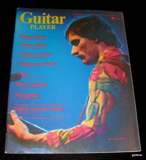 Guitar Player 1976 Dickey Betts Allman Brothers Band