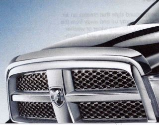 2009 2012 Dodge RAM 1500 Chrome Air Bug Deflector OME Mopar 82211336AC