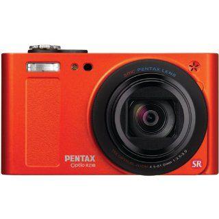 Pentax Optio RZ18 16MP 18X Optical Zoom Digital Camera Orange + 7