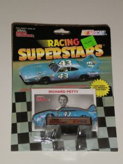 Richard Petty Superbird Racing Champions 1 64 Scale Diecast Car