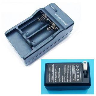 Digital Travel Charger for Camera Torch CR123 Battery