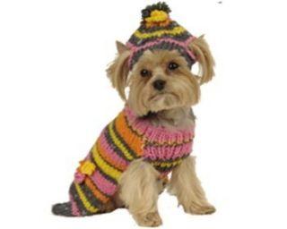 MAXS CLOSET PET DOG CLOTHING DESIGNER DOG SWEATER YORKIE POODLE NWT XS
