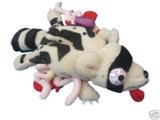 Twitch Roadkill Toys Raccoon Designer Plush Soft Toy