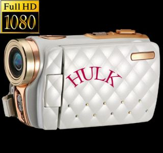 DDV 5500HD Digital Camera Camcorder HDV White HD 3 TFT